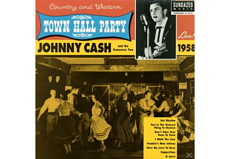 Johnny Cash - Live At Town Hall Party 1958 - (Vinyl)