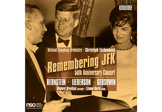 Christoph & National So Eschenbach - Remembering  Jfk - 50th Anniversary Concert [Doppel-cd] - (CD)