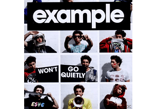 Example - Won't Go Quietly [CD]
