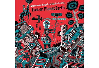 Andromeda Mega Express Orchestra - Live On Planet Earth - (Vinyl)