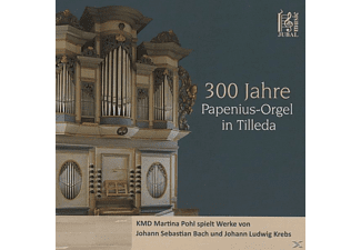 Kmd Martina (org) Pohl - 300 Jahre Papenius Orgel In Tilleda [CD]
