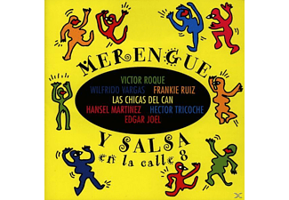 VARIOUS - Merengue Y Salsa En La Calle 8 - (CD)