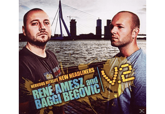 Begovic, Baggi / Amesz, René - Nervous Nitelife-New Headliners V.2 - (CD)