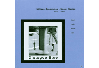 Miltiades & Alexio Papastamou - Dialogue Blue - (CD)