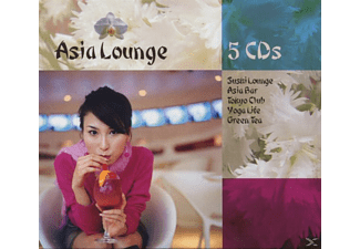 Jean-paul Genre - Asia Lounge Box [CD]