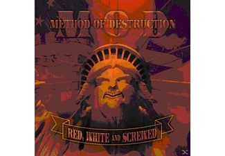 M.O.D. - Red,white & screwed - (CD)