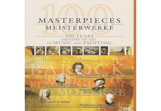 500 Years Of Music+painting - 100 Masterpieces - 500 Years History Of Art In Music And Pan - (DVD)
