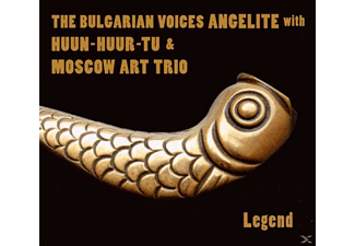 Bulgarian Voices ANGELITE/Huun-Huur-Tu/Moscow Art - Legend [CD]