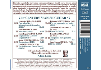 Adam Levin - 21st Century Spanish Guitar Vol.2 - (CD)