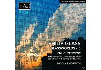 Nicolas Horvath - Glassworlds: Klavierwerke Vol.5 - (CD)