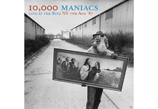 10,000 Maniacs - Live At The Ritz,Ny,7th Aug.87 - (CD)