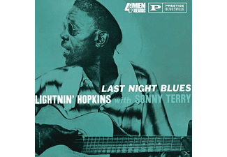 Lightnin' -with Sonny Terry- Hopkins - Last Night Blues - (Vinyl)