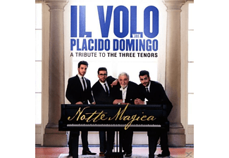 Il Volo, Plácido Domingo - Notte Magica-A Tribute to The Three Tenors (Live - (DVD)