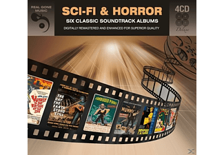 VARIOUS - 6 Classic Sci-Fi & Horror Albums [CD]