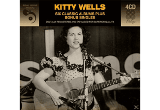 Kitty Wells - 6 Classic Albums Plus Bonus Singles - (CD)