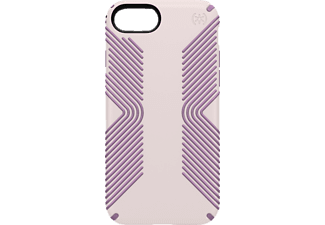 SPECK PRESIDIO GRIP, Backcover, iPhone 7, Kunststoff, Lila