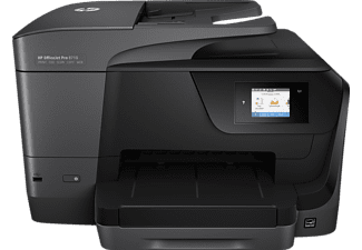 HP OfficeJet Pro 8719, 4-in-1 Multifunktionsdrucker, Schwarz