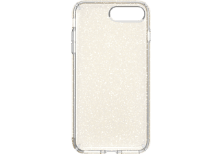SPECK PRESIDIO Clear Glitter iPhone 7 Plus Handyhülle, Transparent/Gold