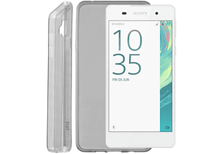 IDOL 1991 Θήκη Sony Xperia E5 F3311 Ultra Thin Tpu 0.3mm Grey - (5205308173660)