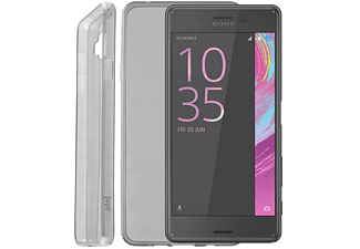 IDOL 1991 Θήκη Sony Xperia X Performance F8131 Ultra Thin Tpu 0.3mm Grey - (5205308173530)