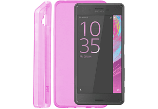 IDOL 1991 Θήκη Sony Xperia X Performance F8131 Ultra Thin Tpu 0.3mm Pink - (5205308173554)