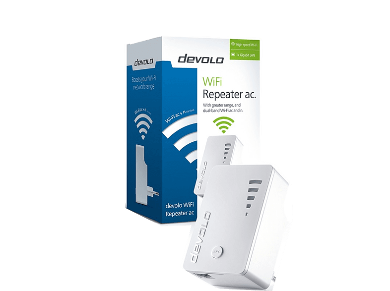 DEVOLO WiFi Repeater AC - (9790) laptop  tablet  computing  δικτυακά access point  router  range extender  switch