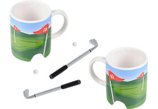 WINKEE 14325 Golf Kaffeebecher-Set