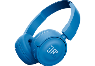 JBL T450BT, On-ear Kopfhörer, Headsetfunktion, Bluetooth, Blau