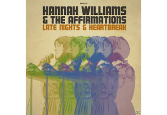 Hannah Williams, The Affirmations - Late Nights & Heartbreak - (Vinyl)