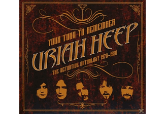 Uriah Heep - Your Turn To Remember:The Definitive Anthology [CD]
