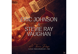 Eric Johnson, Stevie Ray Vaughan - All Those Days - (CD)