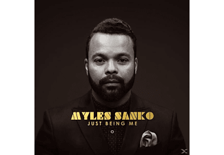 Myles Sanko - Just Being Me - (Vinyl)
