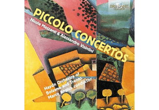Marco Haydn Orchestra/angius - Piccolo Concertos By Liebermann & Mozart - (CD)