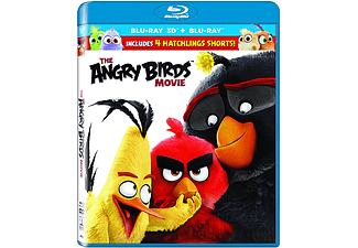 Angry Birds: Η Ταινία Blu-ray 3D