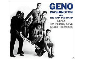 Geno Washington & The Ram Jam Band - Geno! The Piccadilly & Pye Studio Recordings [CD]