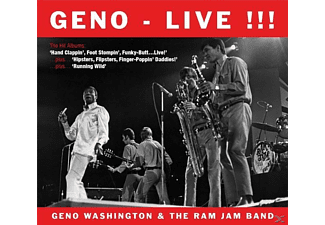 Geno Washington & The Ram Jam Band - Live !!! The Hit Albums [CD]