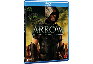 Arrow Säsong 4 Action Blu-ray