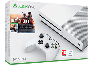 MICROSOFT Xbox One S 500GB Konsole - Battlefield 1 Bundle