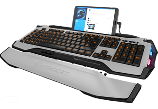 ROCCAT Skeltr Smart Communication RGB, Gaming Tastatur