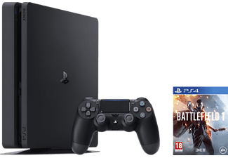 SONY Nya Playstation 4 Slim (inkl. Battlefield 1) - 1 TB