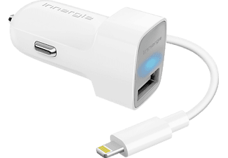 INNERGIE PowerCombo Go 10W autolader + Lightning-kabel