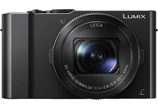 PANASONIC Lumix DMC-LX15 Digitalkamera, 20.1 Megapixel, 3x opt. Zoom, Full HD, 4K, MOS Sensor, Autofokus, Touchscreen, Schwarz