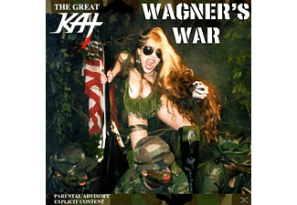 The Great Kat - Wagner's War - (CD)