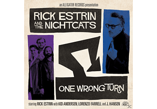 Rick & The Nightcats Estrin - One Wrong Turn - (CD)
