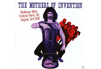 The Mothers Of Invention - Wollman Rink, Central Park Ny 3rd August 1968 [CD]