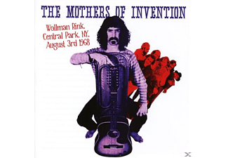 The Mothers Of Invention - Wollman Rink, Central Park Ny 3rd August 1968 - (CD)