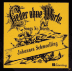 Johannes Schmölling - Lieder Ohne Worte [CD] - broschei