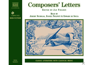Composers' Letters - 2 CD - Hörbuch