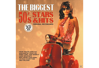 VARIOUS - The Biggest 50s Stars & Hits - (CD)