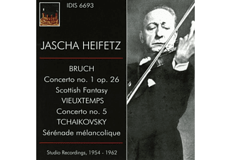 Heifetz/Wallenstein/Sargent/SO of London/Los Angel - Jascha Heifetz spielt - (CD)